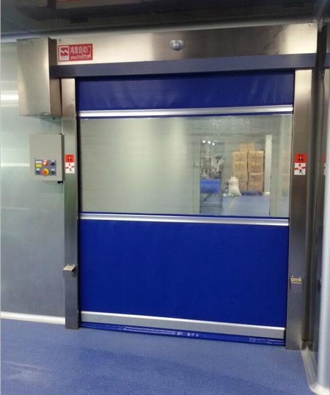 Industry High Speed Roll Up Door With CE Certificate 3