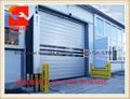 Aluminium Alloy High Speed Garage Door With CE Certification  2