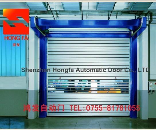 Aluminium Alloy High Speed Garage Door With CE Certification  3