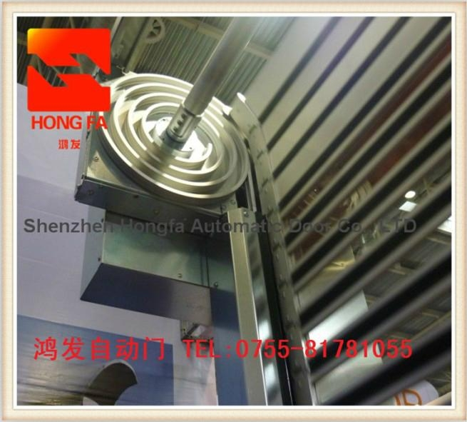 Aluminium Alloy High Speed Garage Door With CE Certification  4