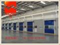 Industrial High Speed Roller Doors / Overhead Door With CE Certification  4