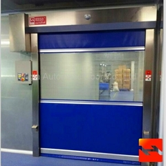 High Speed Rolling Doors With CE Certification Automatic Industrial Door