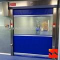Industrial High Speed Roller Doors / Overhead Door With CE Certification  2