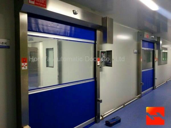 Industrial High Speed Roller Doors / Overhead Door With CE Certification  1