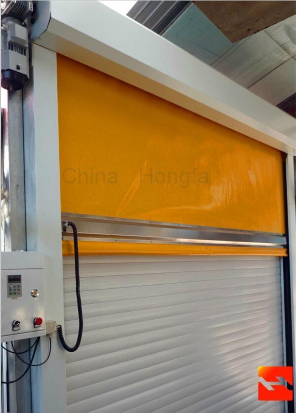 Industrial High Speed Roller Door With CE Certification  1