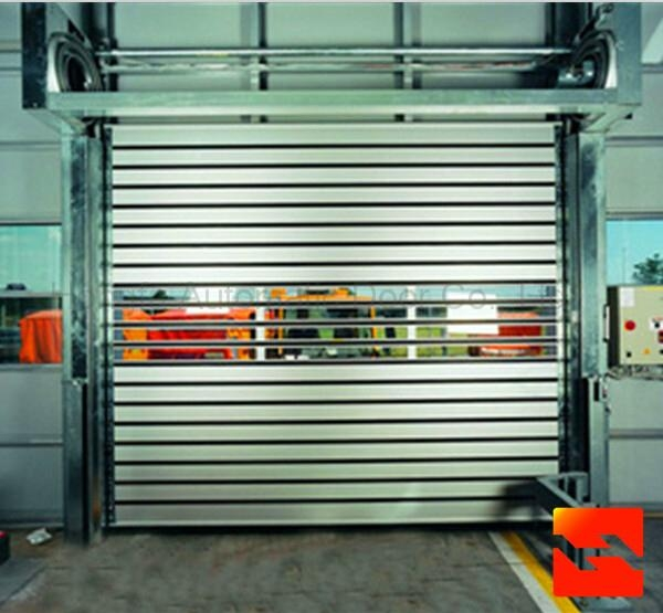 Top Quality High Speed metal Door With CE Certification  1