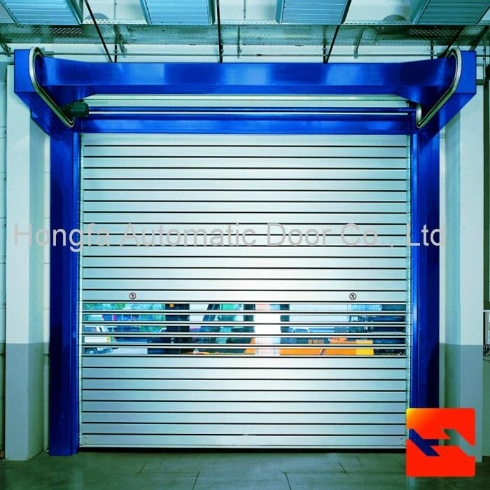 Fast Rolling Shutter Door High Speed Door Hard  metal Door 1