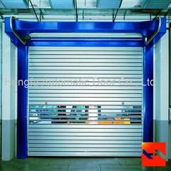 Fast Rolling Shutter Door High Speed Door Hard  metal Door