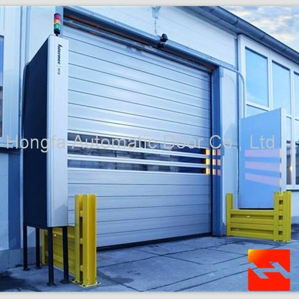 Good Quality Hard Fast Rolling Shutter Door  Automatic High Speed Door  1