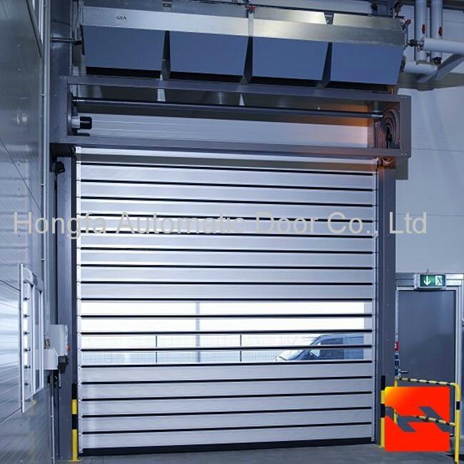 Good Quality Hard Fast Rolling Shutter Door  Metal Automatic Rapid Door  1