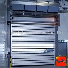 Good Quality Hard Fast Rolling Shutter Door  Metal Automatic Rapid Door