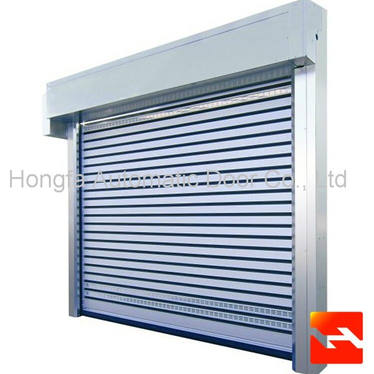Good Quality Hard Fast Rolling Shutter Door  Metal Automatic Rapid Door  4