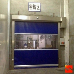 Fast Shutter Rolling Door With CE Certification High Speed Door