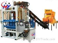 HY-QT4-25 manual brick making machine 1
