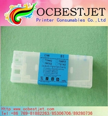 Refillable Ink Cartridge for Epson 4000 7600 9600 with auto reset chip