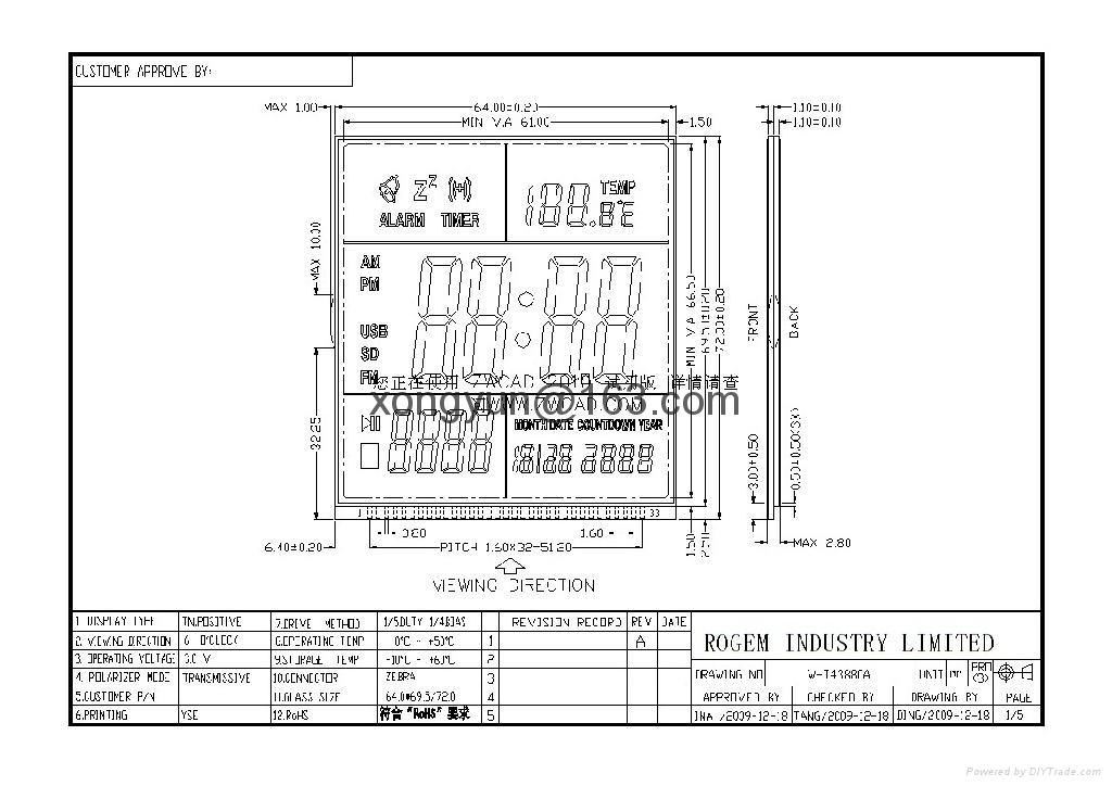 FSNT液晶顯示屏 3
