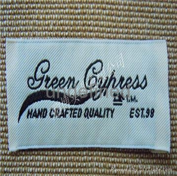 Woven label 4