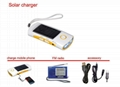 Solar torch with mobile charger