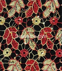 LM0188 chemical lace with hallow-out