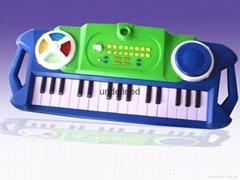 电子琴手板模型
