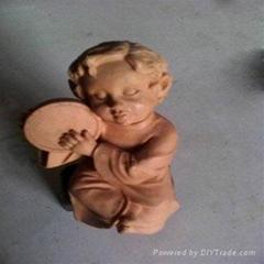 泥雕人物模型