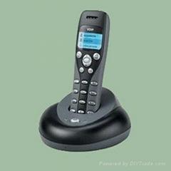Cordless landline telephone
