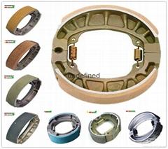 AX100 motorcycle brake shoe,OEM