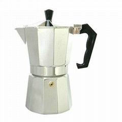 Ten horns all aluminium coffee maker
