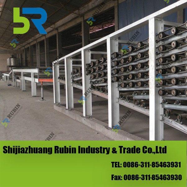 High quality gypsum board making machine - GB-LSXT - RUBIN