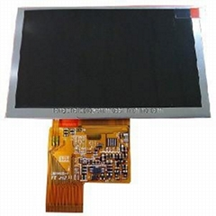 5inch High Quality TFT LCD Screen with Touch Panel