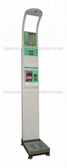 Cve-Bs15B Coin-Operated Electronic Body Scale Weight Scale