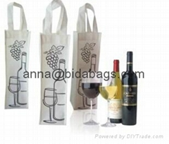 Various durable wine bag, wine tote bag, wine bottle bag