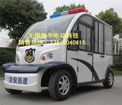 无锡锡牛XN6062PF 6座全封闭电动巡逻车
