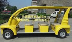无锡锡牛XN6062六座电动观光车