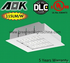 Top Quality Workshop Industrial Use LED Canopy Light With Anti-Glare Funtion