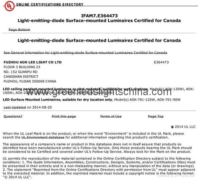 L70 62000Hrs Lifespan 80W Industrial LED High Bay Lamp 5
