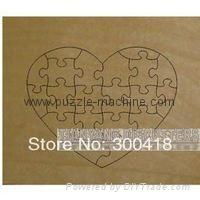 Heart Shape Puzzle die 180x145mm-22pcs 1