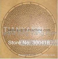 Roud shape Jigsaw puzzle die 500x500mm--600pcs 1