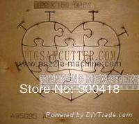 Heart Shape Puzzle die 122x150mm-8pcs 1
