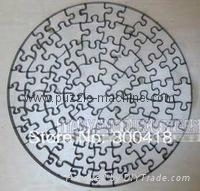 Roud shape Jigsaw puzzle die 200x200mm--72pcs