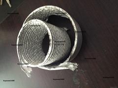 Multi layer aluminum foil duct