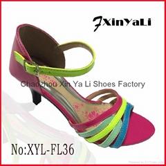 2015 Wedge Platform Comfortable ladies sandal shoes