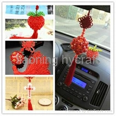 Sell elegant handmade beaded car hanging