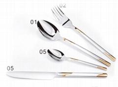 kitchen High Grade Stainless Steel Tableware OEM