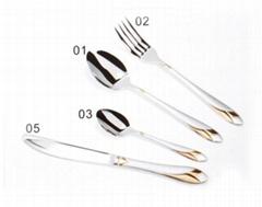 OEM 430SS Stainless Steel Tableware