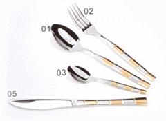 Western Tableware Stainless Steel Tableware