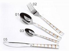 Practical Stainless Steel Tableware