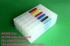 Suitable 6 colors refillable bulk ink cartridge for HP Designjet 9000S 10000S