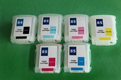 Best quality 6 colors refillable ink tank for HP Designjet 130