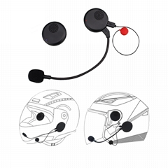 M8 Motorcycle Helmet Bluetooth Headset for Music and Phone Call